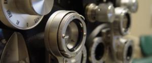 Close up image of refractor machine