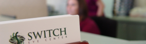 Image of Switch Eye Center business cards